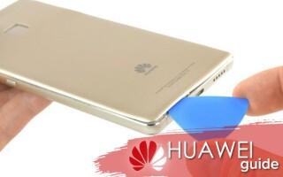 Как разобрать телефон Huawei в домашних условиях – пошаговая инструкция
