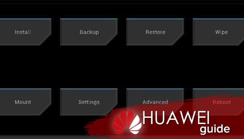 huawei download latest version and recovery